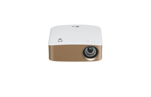 LG PH150G data projector 130 ANSI lumens DLP 720p (1280x720) Portable projector Gold,White