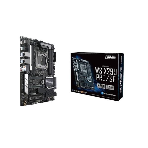 WS X299 PRO/SE S2066 X299 ATX SND+GLN+U3.1+M2+U2 DDR4          IN