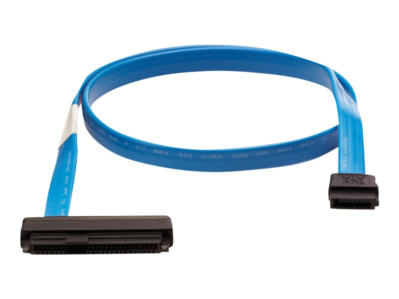 Hewlett Packard Enterprise P06307-B21 Serial Attached SCSI (SAS) cable Blue