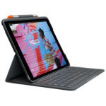 Logitech Slim Folio mobile device keyboard QWERTY UK English Graphite Bluetooth