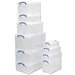 REALUSE REALLY USEFUL 12L STORAGE BOX CLEAR 12C