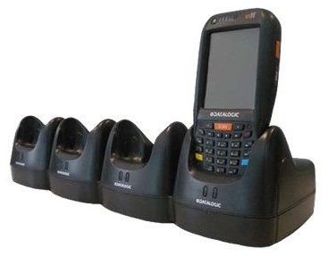 Datalogic Falcon X3 Charging ADC Dock 4 Slot - Black - (94A150056)