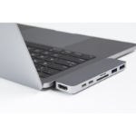 """HYPER HyperDrive DUO Hub for USB-C MacBook Pro 13"""" and 15"""" 2016/2017/2018"""