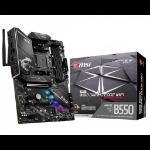 MSI MPG B550 Gaming Edge WiFi Socket AM4 ATX AMD B550
