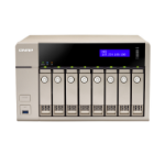 QNAP TVS-863+ NAS Tower Ethernet LAN Gold