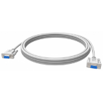 Vision TC 10MS 10m RS-232 RS-232 White serial cable