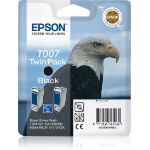Epson Eagle Doble cartucho T007 negro
