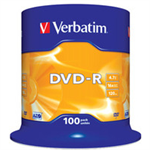 Verbatim AZO DVD-R 4.7GB DVD-R 100pc(s)