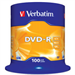 Verbatim DVD-R Matt Silver 4.7 GB 100 pc(s)
