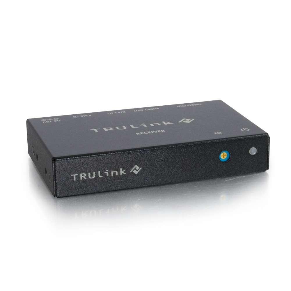 Trulink Vga+3.5 Audio Over Cat5 Box Receiver 100m