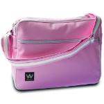 "Walk on Water Boarding Bag 13 H 13"" Messenger case Pink,White"