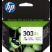 HP Cartucho de tinta Original 303XL tricolor de alta capacidad