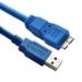 Astrotek 3m USB 3.0 A/Micro B USB cable USB 3.2 Gen 1 (3.1 Gen 1) USB A Micro-USB B Blue