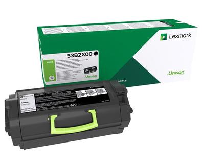Lexmark 53B2X00 Toner black, 45K pages