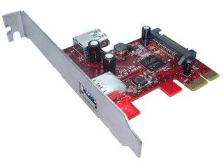 USB 3.0 1x Internal + 1x External 2-ports Low Profile Pci-e Host Adapter