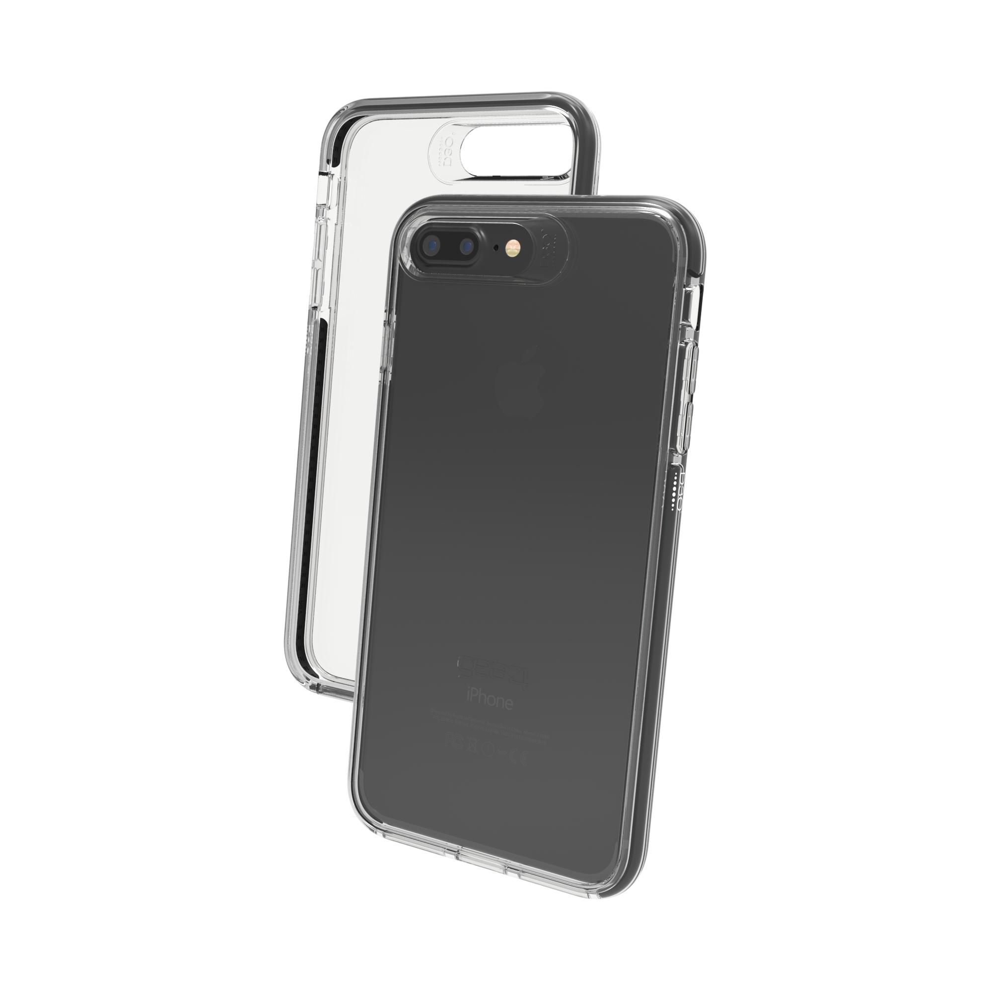 "GEAR4 Piccadilly funda para teléfono móvil 14 cm (5.5"") Negro, Transparente"