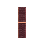 Apple 40mm Plum Sport Loop Band Violett Nylon