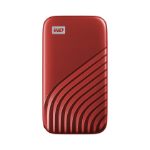 Western Digital My Passport 2000 GB Rot