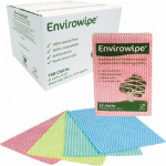 Envirowipe 100% Natural Cleaning Cloths (50x36cm) Red PK25