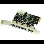 Approx APPPCIE4P interface cards/adapter Internal USB 3.2 Gen 1 (3.1 Gen 1)
