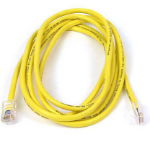 Belkin High Performance Category 6 UTP Patch Cable 15m 15m Yellow networking cable