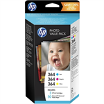 HP T9D88EE (364) Ink cartridge multi pack, Pack qty 3