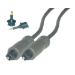 MCL Cable Optic Toslink Audio 1.0m cable de audio 1 m Negro