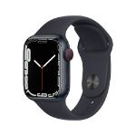 Apple Watch Series 7 41 mm OLED 4G Black GPS (satellite)