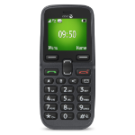 "Doro PhoneEasy 5030 1.7"" 78g Black, Graphite Senior phone"