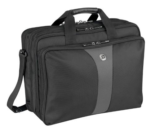 """Wenger/SwissGear 600655 17"""" Briefcase Black,Grey notebook case"""