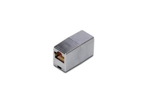 Digitus CAT 5e Modular Coupler network splitter Silver