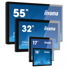 "iiyama TF3238MSC-B2AG signage display 80 cm (31.5"") LED Full HD Touchscreen Interactive flat panel Black"