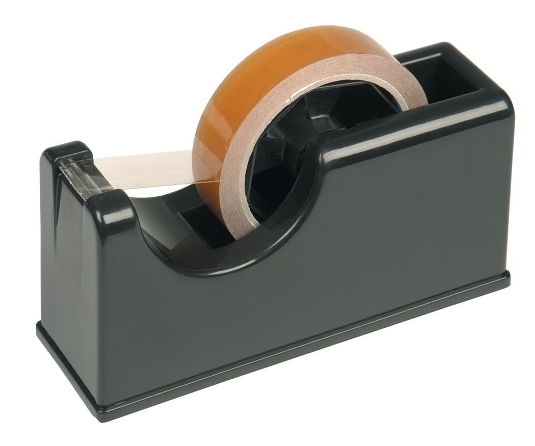 Pacplus Economy Desk Dispenser for 25mm Tapes Grey