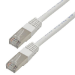 MCL 0.5m Cat5e F/UTP cable de red 0,5 m F/UTP (FTP) Blanco