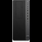 HP Z1 G5 9th gen Intel® Core™ i5 i5-9500 8 GB DDR4-SDRAM 256 GB SSD Tower Black Workstation Windows 10 Pro