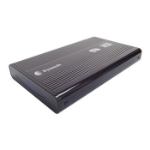"Dynamode USB3-HD2.5S-1B 2.5"" USB powered Black storage drive enclosure"