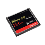 SanDisk Extreme PRO, 256GB memory card CompactFlash