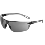 JSP Stealth Safety Spectacles Ultra Thin Lenses 16g EN166 1.F Smoke Ref ASA920-163-000
