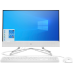 "HP 22-df0001na 54.6 cm (21.5"") 1920 x 1080 pixels Intel® Pentium® Silver 4 GB DDR4-SDRAM 128 GB SSD Wi-Fi 5 (802.11ac) White All-in-One PC Windows 10 Home 1H5V9EA#ABU"