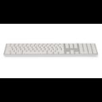 LMP 19098 Tastatur Bluetooth Silber, Weiß