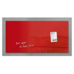 Sigel GL147 Glass Red magnetic board