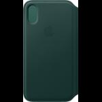 "Apple MRWY2ZM/A mobile phone case 14.7 cm (5.8"") Folio Green"
