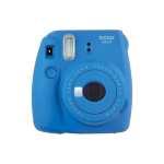 Fujifilm film Instax Mini 9 Cobalt Blue Instant Camera inc 10 Shots