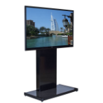 "Unicol RH100 70"" Portable flat panel floor stand Black flat panel floorstand"