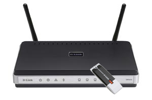 D-Link DKT-400/E wireless router Fast Ethernet Black,Silver