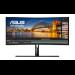 """ASUS ProArt PA34VC 86.6 cm (34.1"""") 3440 x 1440 pixels UltraWide Quad HD LED Black"""