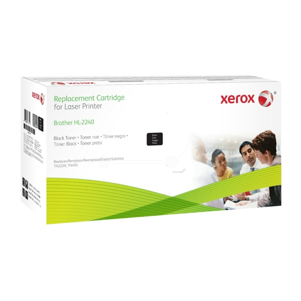 Xerox 106R02634 compatible Toner black, 2.6K pages @ 5% coverage (replaces Brother TN2220)