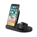 Belkin BOOST↑UP mobile device dock station Smartwatch/Smartphone Black