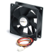 StarTech.com FAN6X25TX3H ventilador de PC Carcasa del ordenador 6 cm 1 pieza(s) Negro