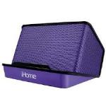 iHome IHM27UC Purple docking speaker
